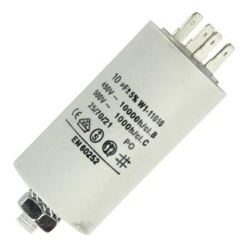 Anlaufkondensator 10µF 450V