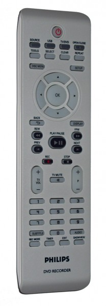 Philips Fernbedienung DVDR3400
