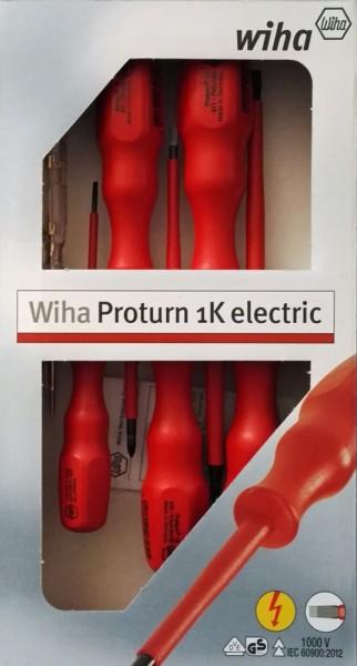 Wiha Proturn 1K electric VDE Schraubendehersatz 6 tlg.