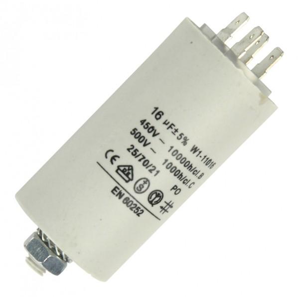 Anlaufkondensator 16µF 450V