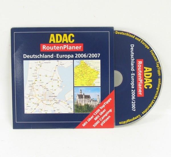 ADAC RoutenPlaner Deutschland Europa 2006/2007