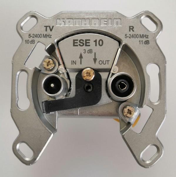 Kathrein ESE 10 Antennendose / Durchschleifdose 2fach