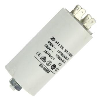 Anlaufkondensator 20µF 450V