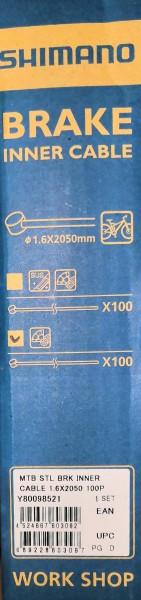 Shimano Innenzug für Bremse MTB STL (Ø 1,6 x 2050 mm)
