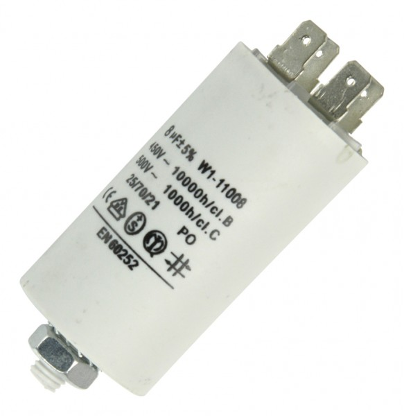 Anlaufkondensator 8µF 450V