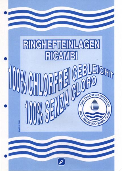 Ringbucheinlagen DIN A4 liniert (50 Blatt)